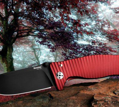 SR1 Aluminium Rot, Schwarz, Lionsteel